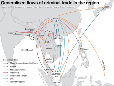 Organised Crime and International Politics in Asia