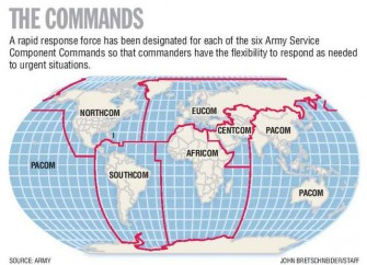 United States Army Global QuickResponse Forces